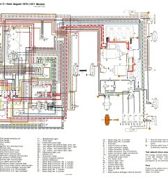 thesamba com type 2 wiring diagrams 1977 vw bus fuel gauge 1977 vw bus wiring diagram [ 2296 x 1540 Pixel ]