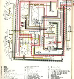 thesamba com type 2 wiring diagrams 2011 vw jetta fuse diagram vw 1971 fuse diagram [ 1148 x 1540 Pixel ]