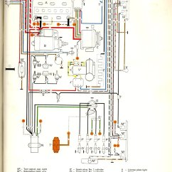 Wiring Diagram Automotive Free Fishbone Template Word Thesamba.com :: Type 2 Diagrams