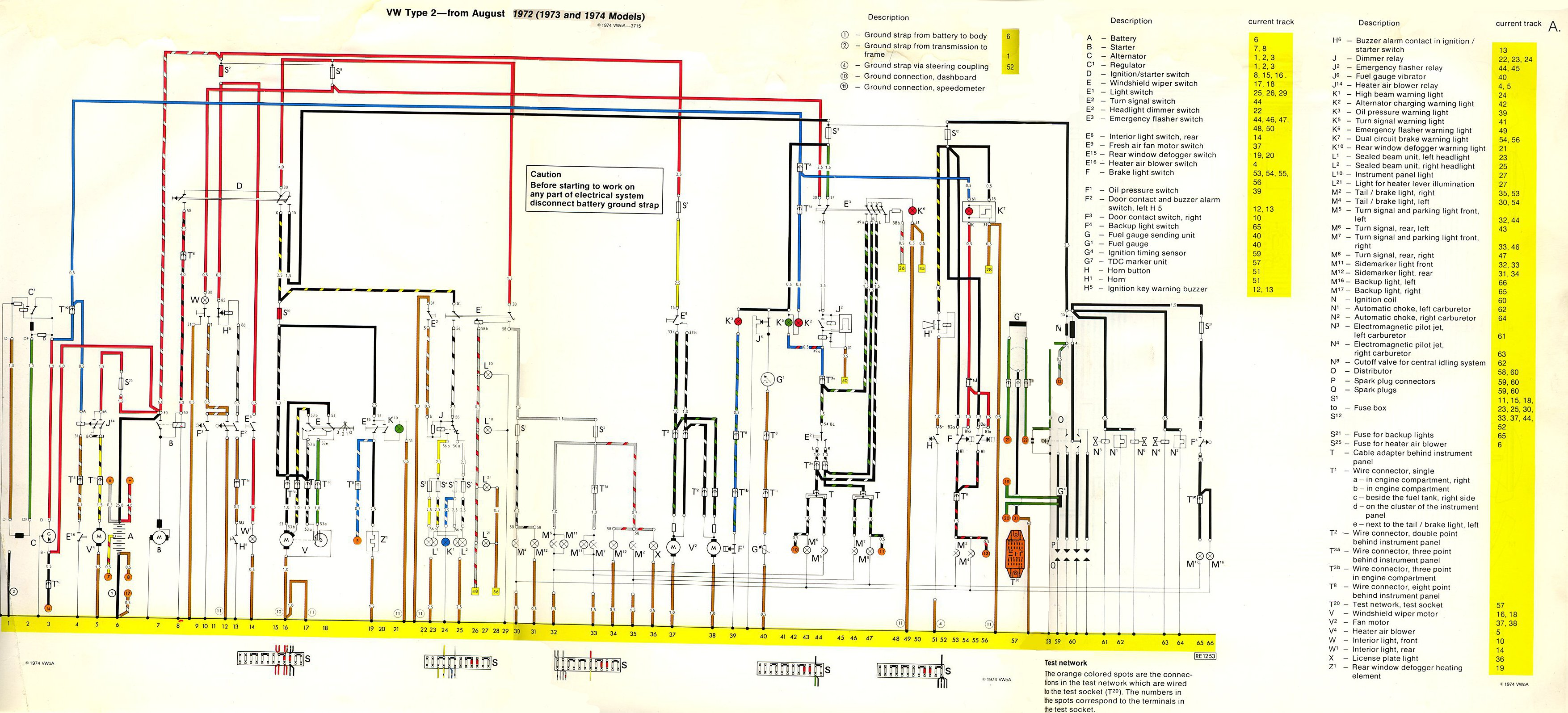 74 Beetle Wiring Diagram For Lights On Electrics Using A Late Bay Loom In An Early Bay Vw Forum