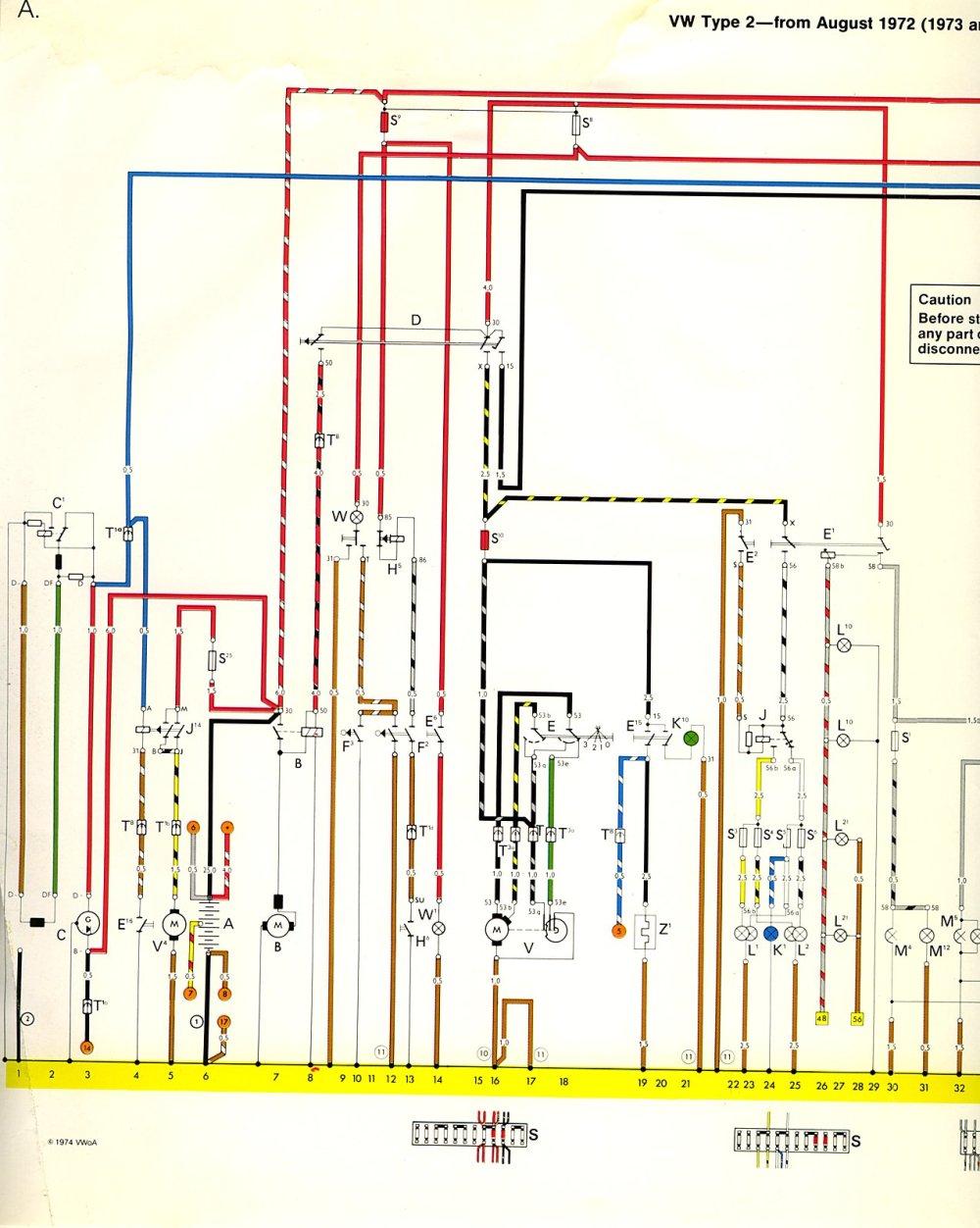 medium resolution of 1970 vw beetle electrical wiring diagram