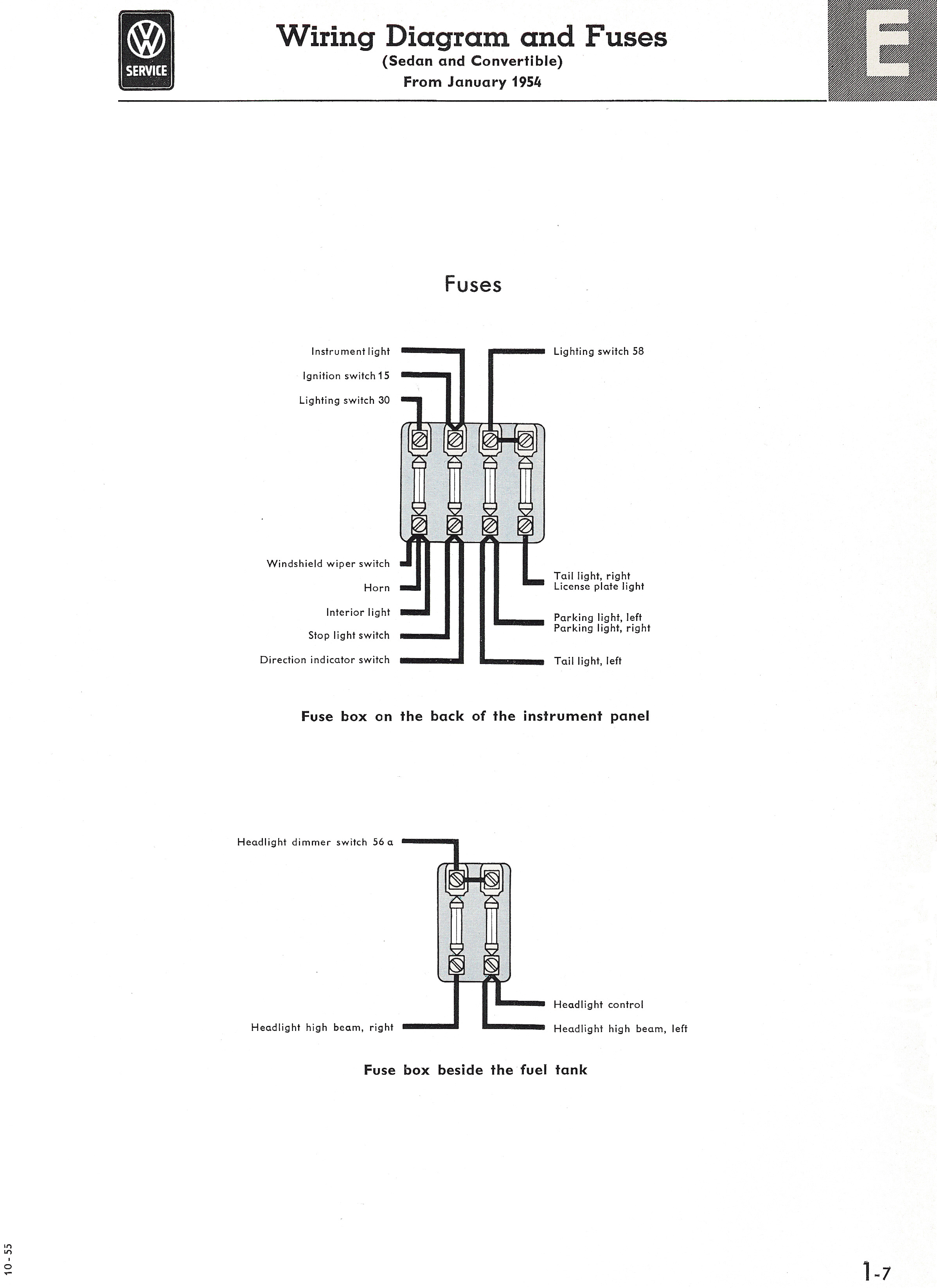 1968 Vw Beetle Wiring Diagram