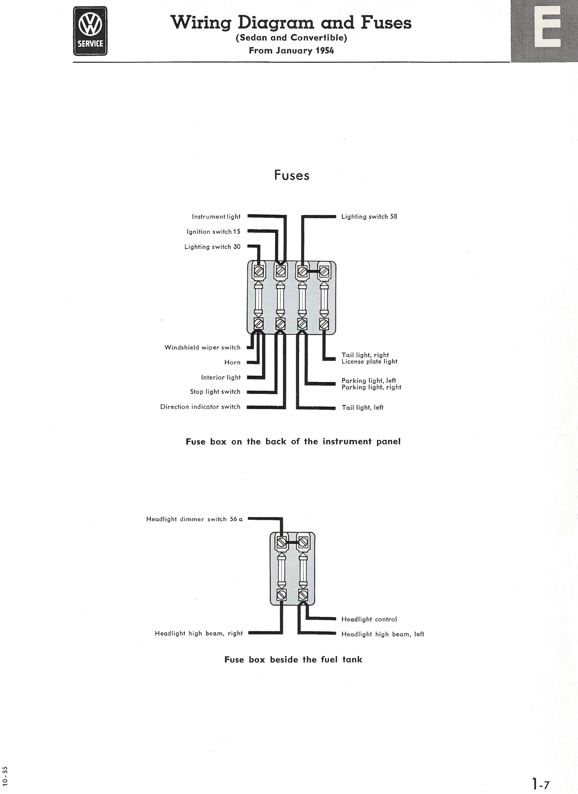 hight resolution of thesamba com type 1 wiring diagrams1965 vw bug fuse block diagram 5