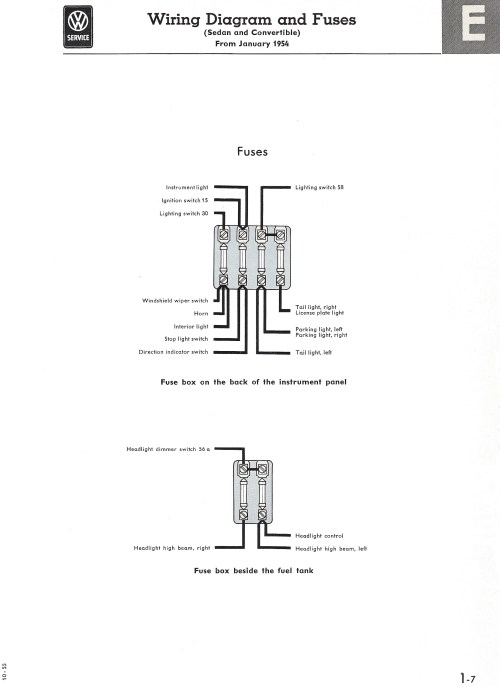 small resolution of thesamba com type 1 wiring diagrams1965 vw bug fuse block diagram 5