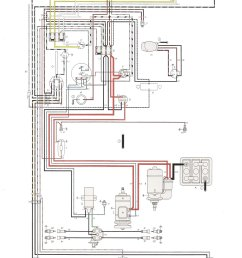 thesamba com type 1 wiring diagrams 1600cc vw engine diagram 1972 vw wiring diagram [ 1192 x 1649 Pixel ]