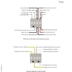 Wiring Diagram Headlight Dimmer Switch Single Phase Ac Fan Motor Thesamba Com Type 1 Diagrams 1960