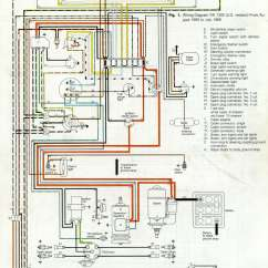 1970 Beetle Wiring Diagram Car Security Diagrams Thesamba Com Type 1
