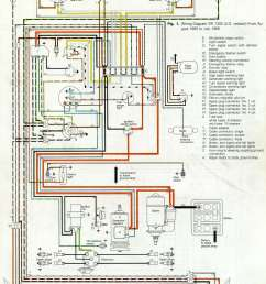thesamba com type 1 wiring diagrams 2000 beetle fuse box diagram 1970 vw fuse box [ 1584 x 2072 Pixel ]