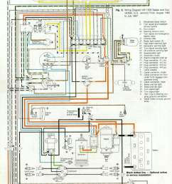thesamba com type 1 wiring diagrams rh thesamba com 1964 vw beetle wiring diagram 1974 vw [ 1588 x 2172 Pixel ]