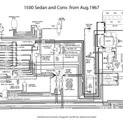 1968 Vw Type 1 Wiring Diagram Land Rover Discovery Trailer Thesamba Diagrams