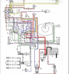 wiring diagram for 1971 super beetle [ 1069 x 1506 Pixel ]