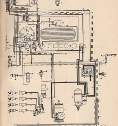 thesamba com type 1 wiring diagrams vw radio wiring diagram 1958 vw van wiring diagram [ 987 x 1449 Pixel ]