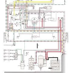 Vw Transporter Wiring Diagram T4 5 7 Pin Trailer Plug Thesamba Type 1 Diagrams