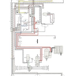 vw motor wiring simple wiring diagram schema vw generator wiring thesamba com type 1 wiring diagrams [ 2464 x 3319 Pixel ]