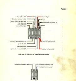 thesamba com type 1 wiring diagrams 1966 volkswagen beetle headlight switch wiring [ 1070 x 1420 Pixel ]