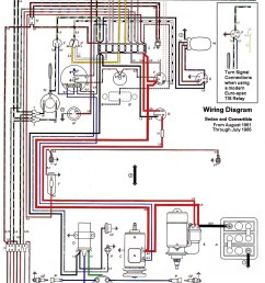 thesamba com type 1 wiring diagrams vw super beetle wiring 1973 vw beetle wiring diagram [ 963 x 1513 Pixel ]
