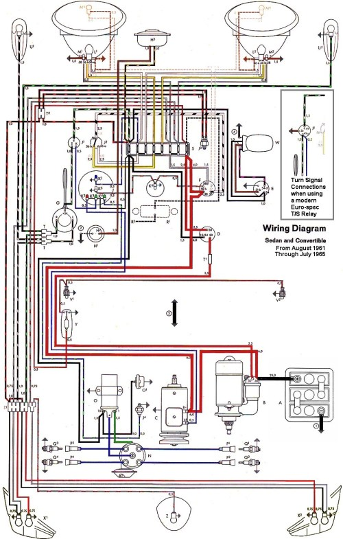 small resolution of thesamba com type 1 wiring diagrams 1973 vw beetle ignition coil wiring diagram vw beetle wiring diagram 1973