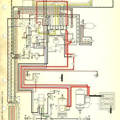 Vw Beetle Wiring Diagram Harley Evo Oil Pump 71 Karmann Ghia Get Free Image About