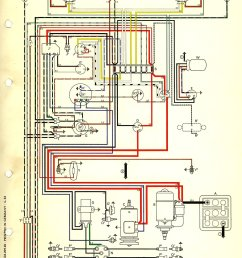 thesamba com type 1 wiring diagrams rh thesamba com vw tdi alternator wire diagram vw generator to alternator conversion [ 1098 x 1654 Pixel ]