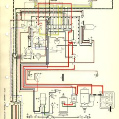 1970 Beetle Wiring Diagram For Kenwood Radio 1968 Vw Data Thesamba Com Type 1 Diagrams Rolls Royce