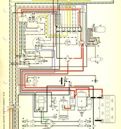 thesamba com type 1 wiring diagrams1967 vw bug ignition coil wiring diagram 17 [ 1146 x 1698 Pixel ]