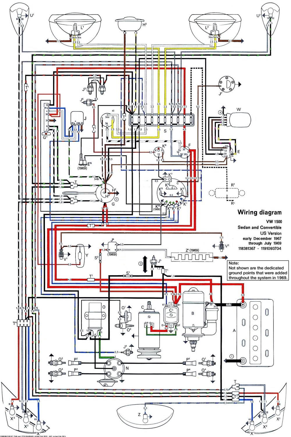 medium resolution of the samba wiring diagram wiring diagram1970 vw bug wiring schematic 14