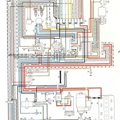 Vw Beetle Wiring Diagram Condenser Fan Motor Thesamba Type 1 Diagrams