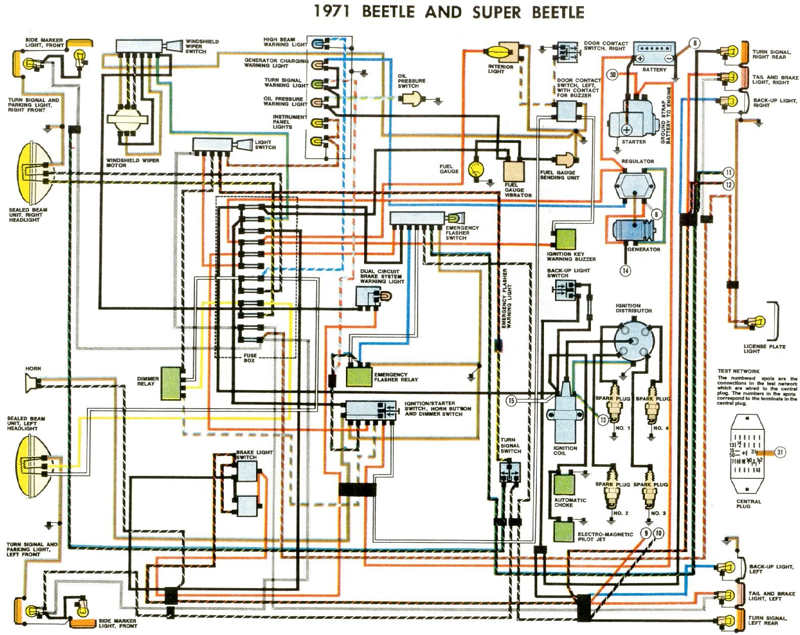hight resolution of thesamba com type 1 wiring diagrams vauxhall insignia vauxhall astra mk3 wiring diagram