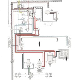 thesamba com type 1 wiring diagrams vw light switch wiring 58 vw alternator wiring [ 1123 x 1702 Pixel ]