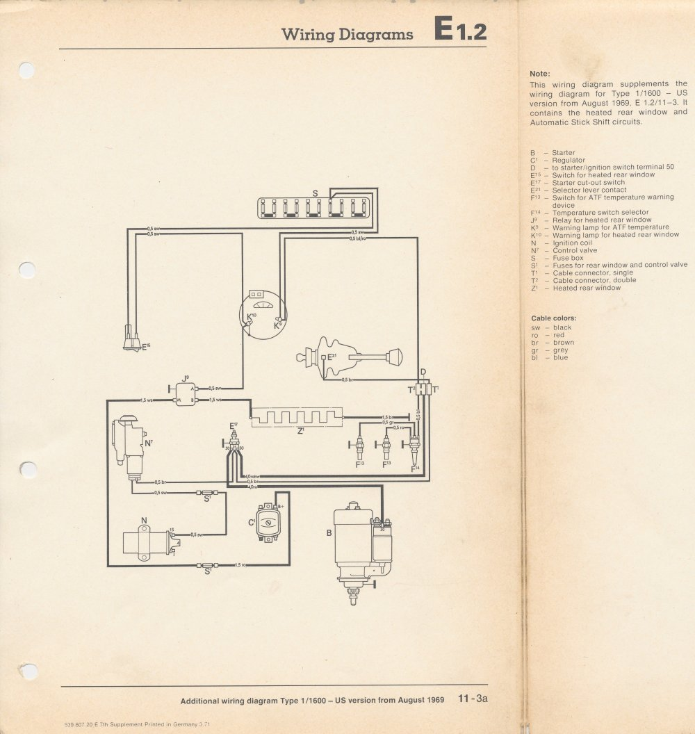 medium resolution of thesamba com beetle late model super 1968 up view topic vw autostick engine wiring diagram
