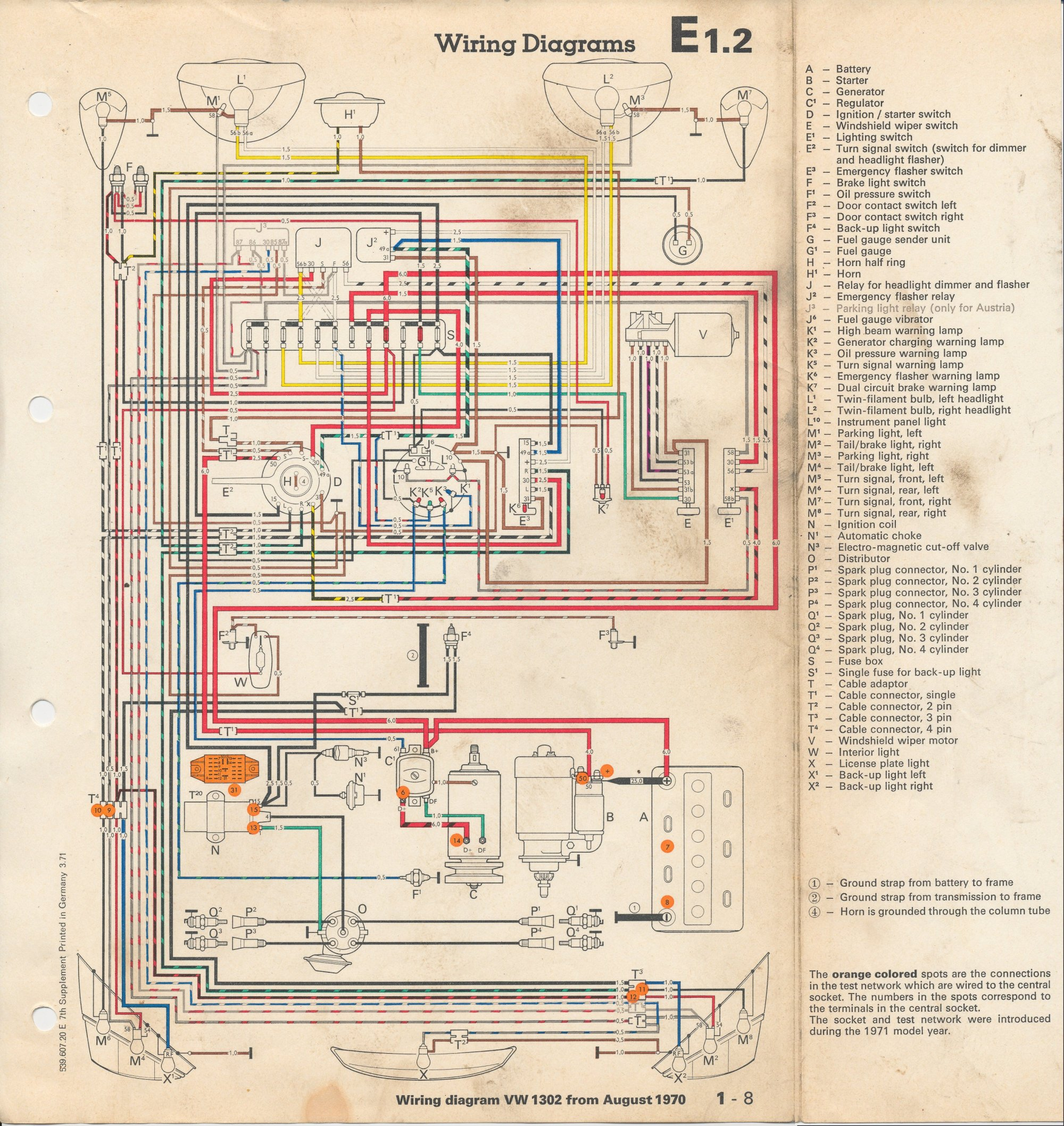 hight resolution of wire diagram for 1972 beetle wire free engine image for 1970 vw