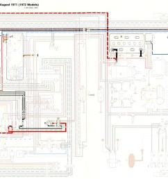 thesamba com bay window bus view topic brake tail turn lights vw tail lights wiring diagram 1972 [ 2116 x 1292 Pixel ]
