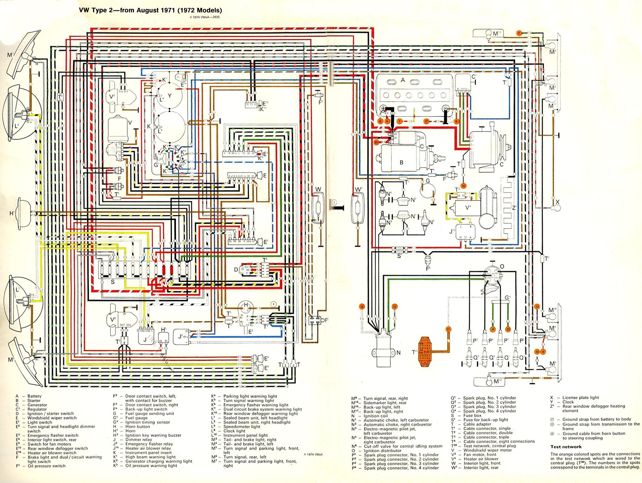 1972 vw bus wiring diagram nl pajero fuse schematic 1971 harness 2013 gti