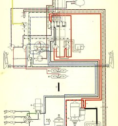 thesamba com type 2 wiring diagrams 1970 vw bus wiring diagram 1970 vw bus fuse box diagram [ 1008 x 1630 Pixel ]
