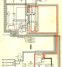 thesamba com type 2 wiring diagrams 1975 vw beetle wiring diagram vw bus wiring diagram [ 1024 x 1614 Pixel ]