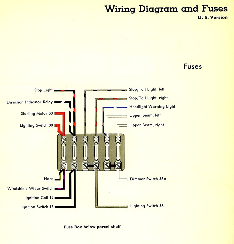 hight resolution of 1965 vw bug fuse block diagram reinvent your wiring diagram u2022 rh kismetcars co uk 2011