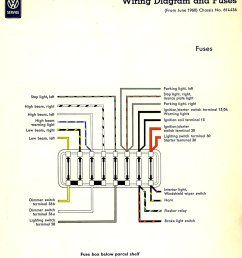 1965 vw bug fuse block diagram wiring diagram third level 1998 vw beetle fuse box 66 [ 1066 x 1200 Pixel ]