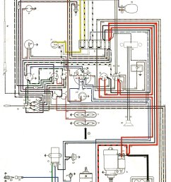 thesamba com type 2 wiring diagrams 1976 vw bus wiring schematic [ 1026 x 1630 Pixel ]