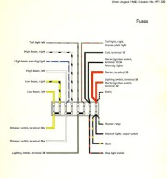 1967 vw fuse box diagram [ 1048 x 1370 Pixel ]