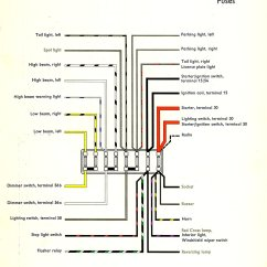 1973 Vw Bus Wiring Diagram Phases Of The Moon To Label Rear Small Lights In ?? Help Please - Split Screen Van Club