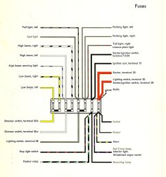 1982 vanagon fuse diagram simple wiring schema 2000 passat relay diagram thesamba com type 2 wiring [ 1076 x 1574 Pixel ]