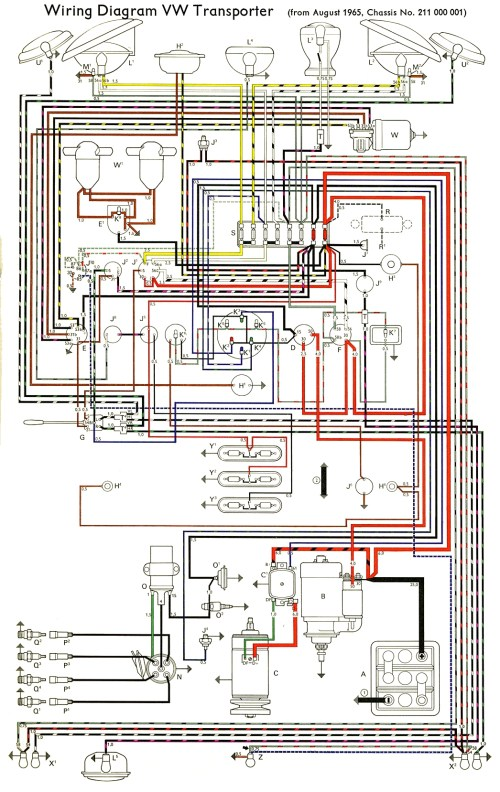 small resolution of thesamba com type 2 wiring diagrams rh thesamba com 69 vw wiring diagram 56 vw bug