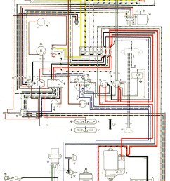 thesamba com type 2 wiring diagrams 1973 vw wiring 76 vw bus wiring diagram [ 1036 x 1654 Pixel ]