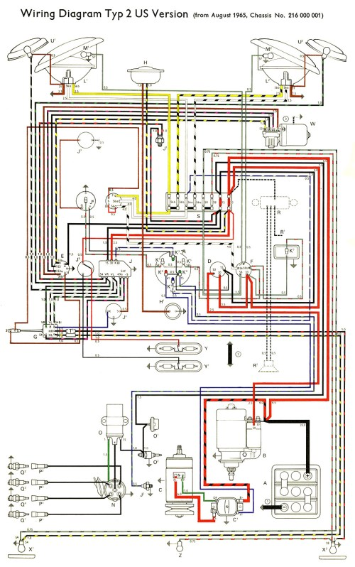 small resolution of thesamba com type 2 wiring diagrams 1973 vw wiring 76 vw bus wiring diagram