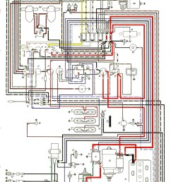thesamba com type 2 wiring diagrams 1960 vw bus fuse box [ 1038 x 1680 Pixel ]