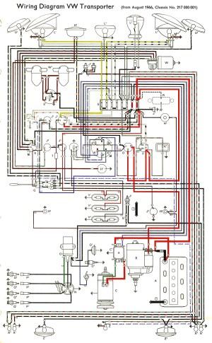 emergency light (hazard) wiring  The Split Screen Van Club