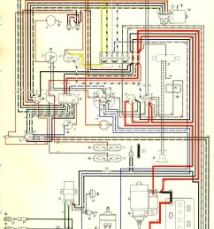 thesamba com type 2 wiring diagrams1970 vw bus wiring diagram 3 [ 1076 x 1702 Pixel ]