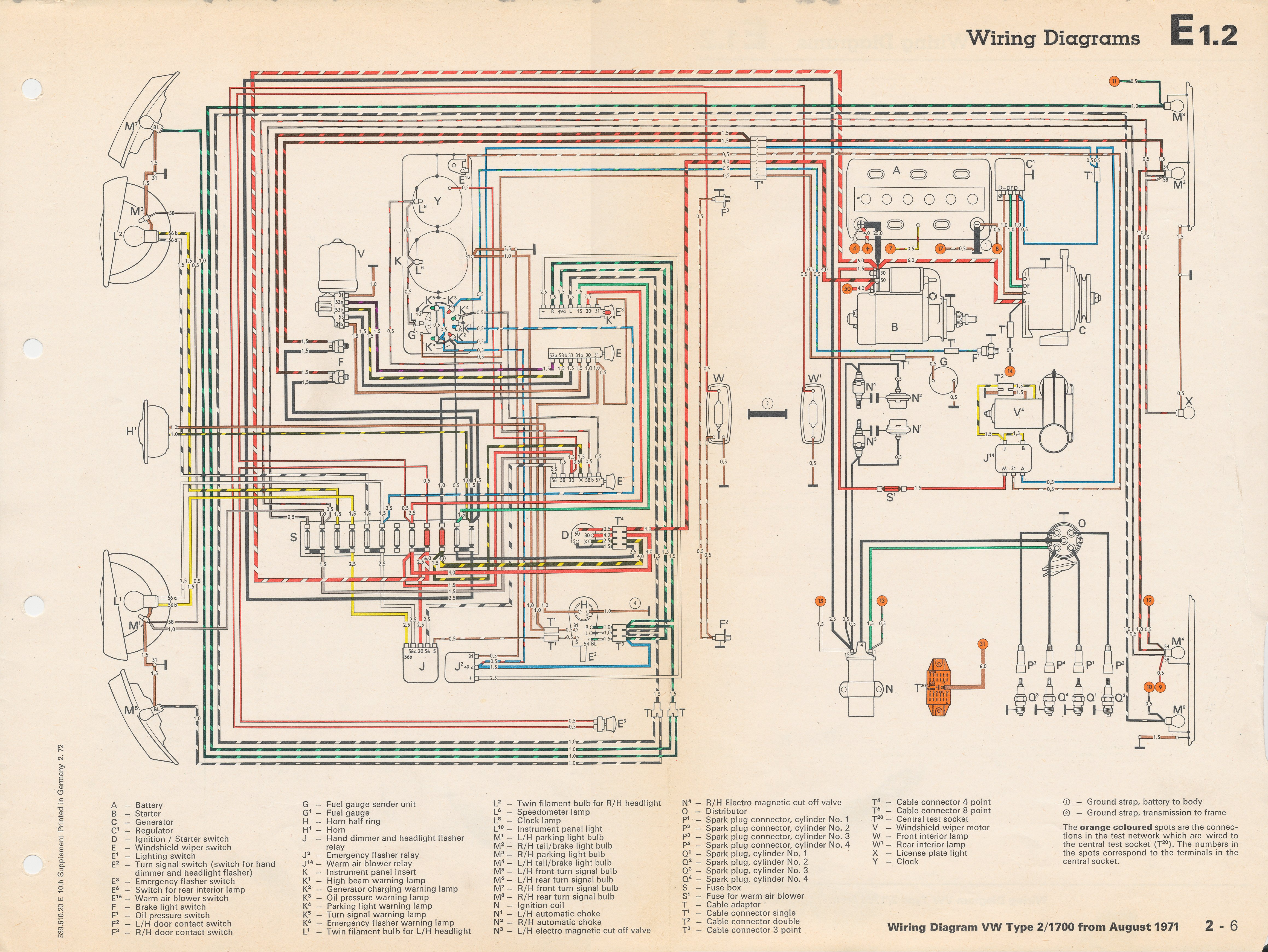 1971 vw bus wiring diagram electrics t25 starter into a 72 baywindow forum guitar pickup diagrams seymour duncan p rails 2 vol thesamba com bay window view topic 1972 battery ground http www archives info 8 71 1700 jpg