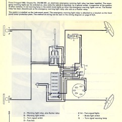 Wiring Diagram For Emergency Lighting Switch Ford Puma Ecu Thesamba Type 2 Diagrams