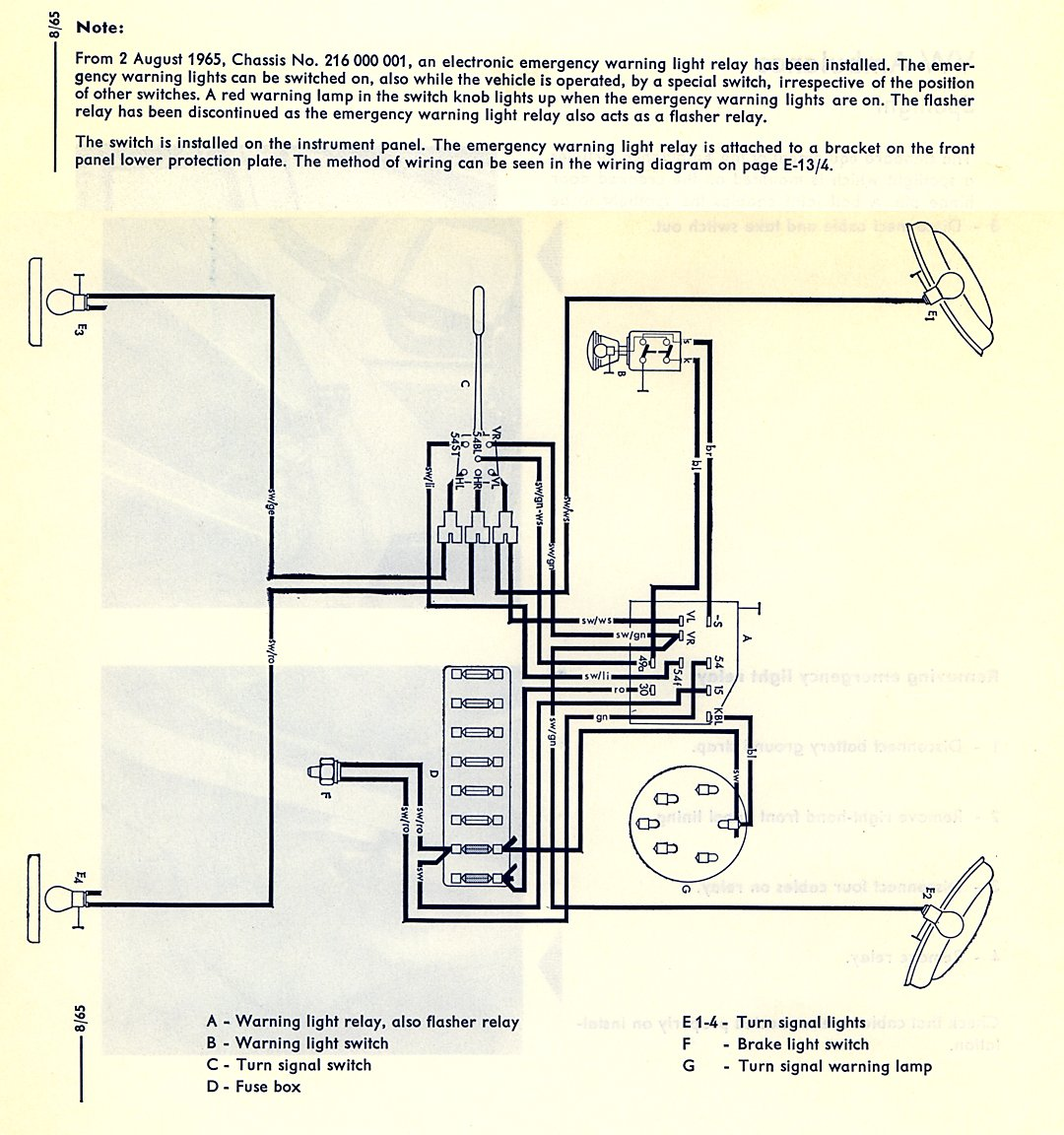hight resolution of thesamba com type 2 wiring diagrams64 corvette tail light wiring diagram 20
